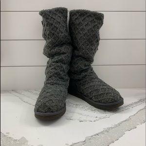 Ugg Argyle Sweater Boot